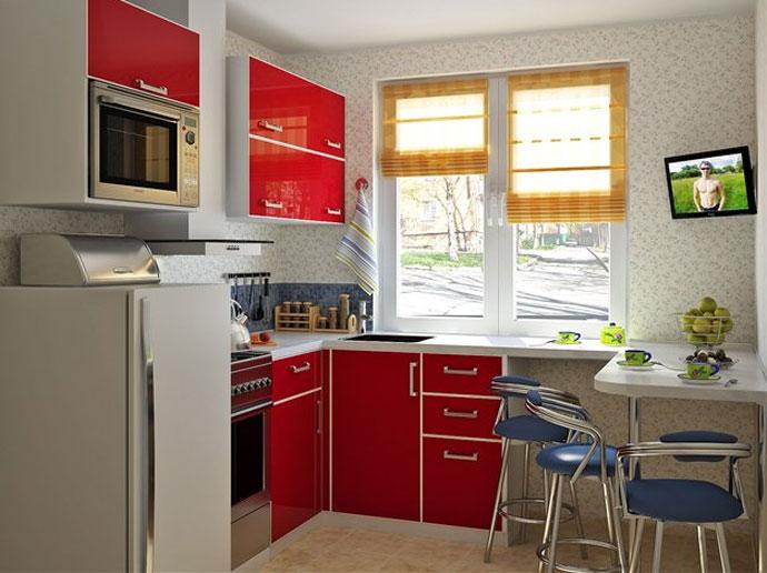кухня 8 5 метров дизайн